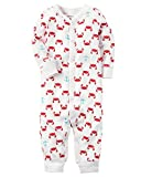 Carter's Baby Boys' Cotton Snap-Up Footless Sleep & Play (Newborn, Crabs)