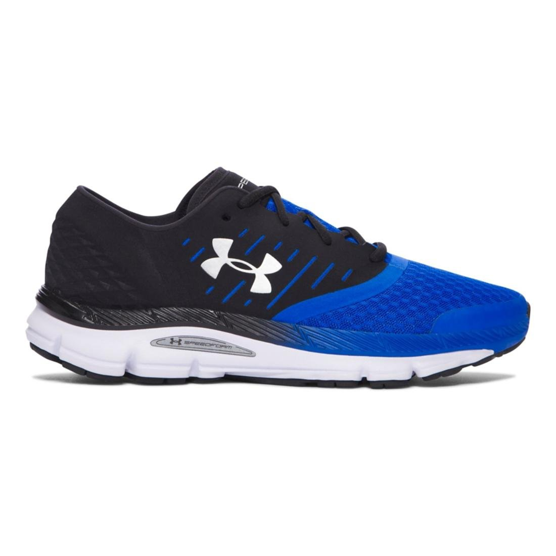 Under Armour Women's Speedform Intake Running Shoe, Black/Stealth Gray/White B01HYU59JA 12.5 D(M) US|Black/Ultra Blue/Mv