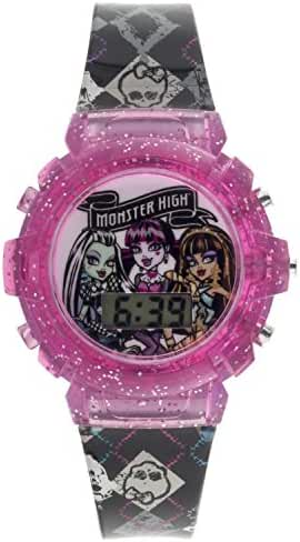 MATTEL Girl's Swiss Automatic Plastic Casual WatchMulti Color (Model: MHKD16017FL)