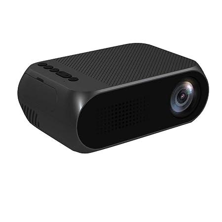 WZHESS Mini proyector LED de 600 lúmenes, YG320 HD 320 ...