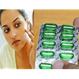 Virateck Vitamin E for Glowing Skin and Hair Care - Pack of 10, 30, 50, 70, 100 Capsules