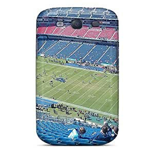Fashion Tpu Case For Galaxy S3- Tennessee Titans Stadium Exercise Morning Defender Case Cover