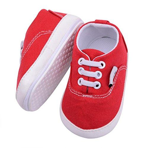 YYF Infant Baby Unisex Jungen Schuhe Prewalker Krabbelschuhe Kleinkind Schuhe Leoparden Korn PU Soft Sohle Sneakers Weiß