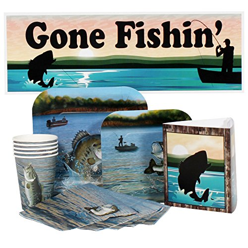 Bass Fishing Party Package for 16 Guests -