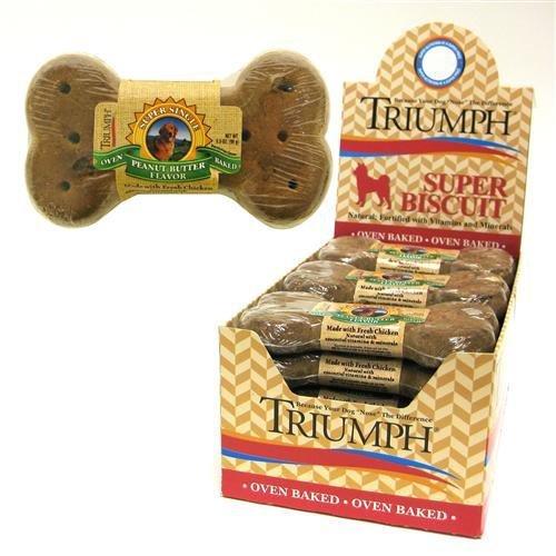 Cheap Triumph Super Biscuits Dog Treat Peanut Butter