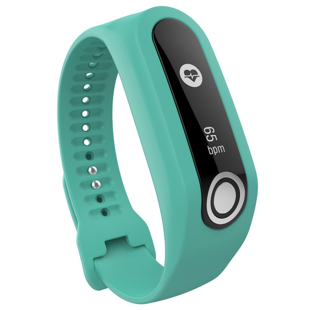 CSSD Clearance Fashion Replacement Silicone Watch Bands Strap for Tomtom Cardio Activity Tracker (Green)