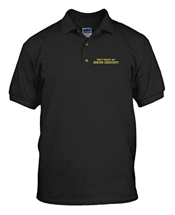 Amazon Dont Forget Senior Discount Embroidery Cotton Short
