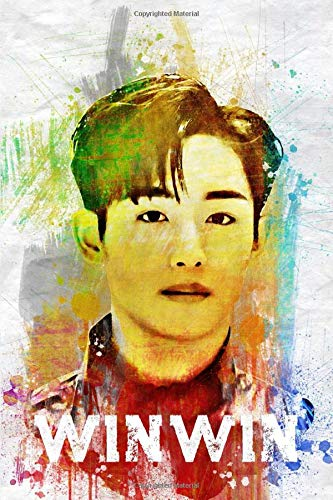 Book : winwin Member Color Splatter Art 100 Page 6 X 9