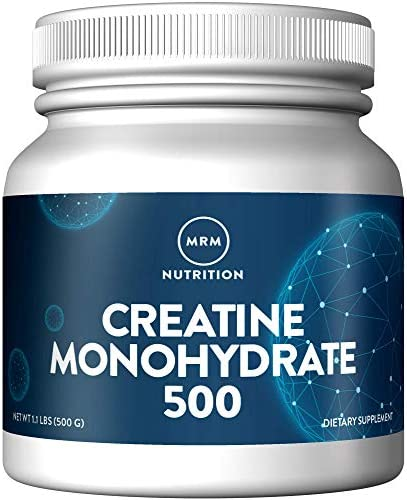 Creatine Monohydrate 500g Powder Micronized