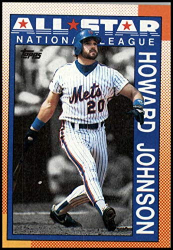 1990 Topps Baseball #399 Howard Johnson New York Mets AS Official MLB Trading Card (stock photos used) Near Mint or better condition