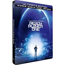Ready Player One - Ultimate Limited Edition Steelbook - 4K HDR + Blu-Ray 3D + Blu-ray