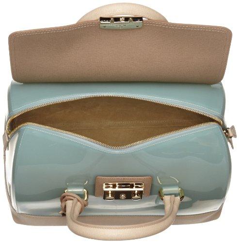 FURLA Candy Vanilla Medium Satchel Handbag
