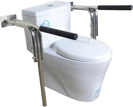 Toalleros repisa YCDJCS Acero Inoxidable Gancho agarrador Plegable bañera Antideslizante Baranda de baño WC Caja sin barreras Walker Ancianos de Escalera Baranda de la Barra de Toalla: Amazon.es: Hogar