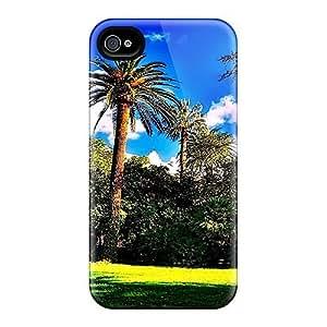 Iphone 4/4s Case Bumper Tpu Skin Cover For Garden Of Green Accessories