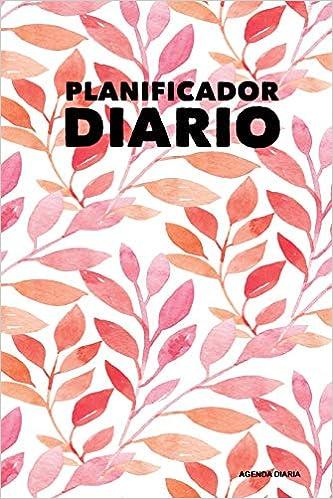 Planificador Diario - Agenda Diaria: Floral (5), 90 Dias ...