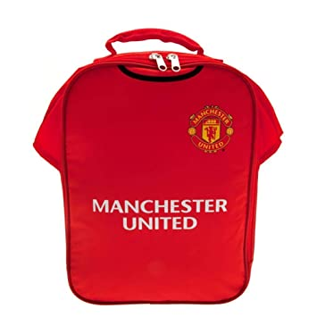 new product b1282 eb65d Manchester United Official Kit Lunch Bag - Multi-Colour ...