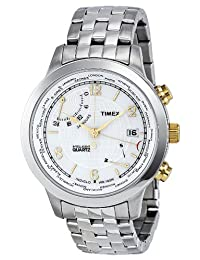 Timex Mens Quartz Stainless Steel watch #T2N613