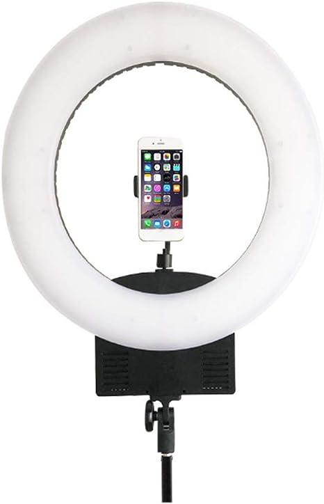 BIXINYAAN LED Anillo de Luz 3 Modos para Disparo Cámara Smartphone ...