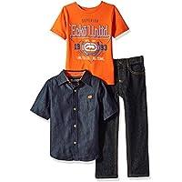 Ecko Unltd. Boys' Short Sleeve Shirt, T-Shirt and Pant Set (More Styles)