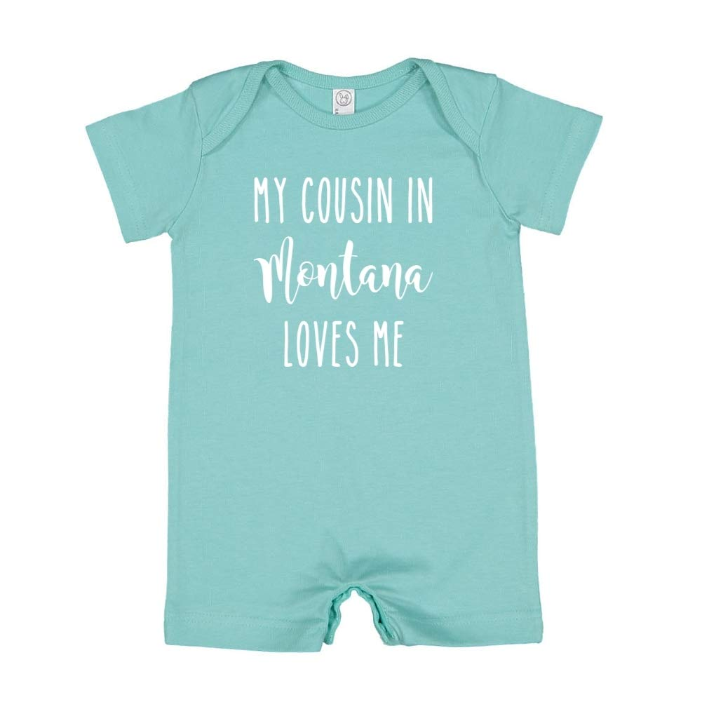 My Cousin in Montana Loves Me Baby Romper