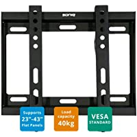 Soniq AWM2302 Wall Mount Fit For most 23 42 Inches Flat Panel Tvs