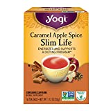 YOGI TEAS Caramel Apple Spice Slim Life Tea, 16 Tea Bags, 1.12 Ounce