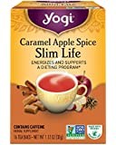 Yogi Caramel Apple Spice Slim Life Tea, 16 Tea Bags, 1.12 Ounce, Packaging May Vary