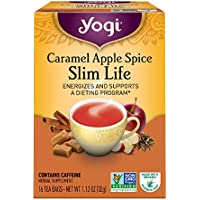 Yogi Tea, Caramel Apple Spice Slim Life, 16 Count, Packaging May Vary