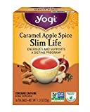 diet food - Yogi Tea, Caramel Apple Spice Slim Life, 16 Count, Packaging May Vary