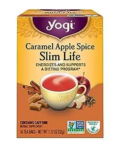 Yogi Tea, Caramel Apple Spice, 16 Count, Packaging May Vary