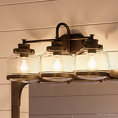 (Luxury Industrial Chic Bathroom Vanity Light, Large Size: 11.25