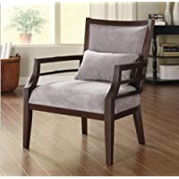 Philly Framed Chair Grey Is Necessity to Any Home Decor with Its Merlot Color Finish