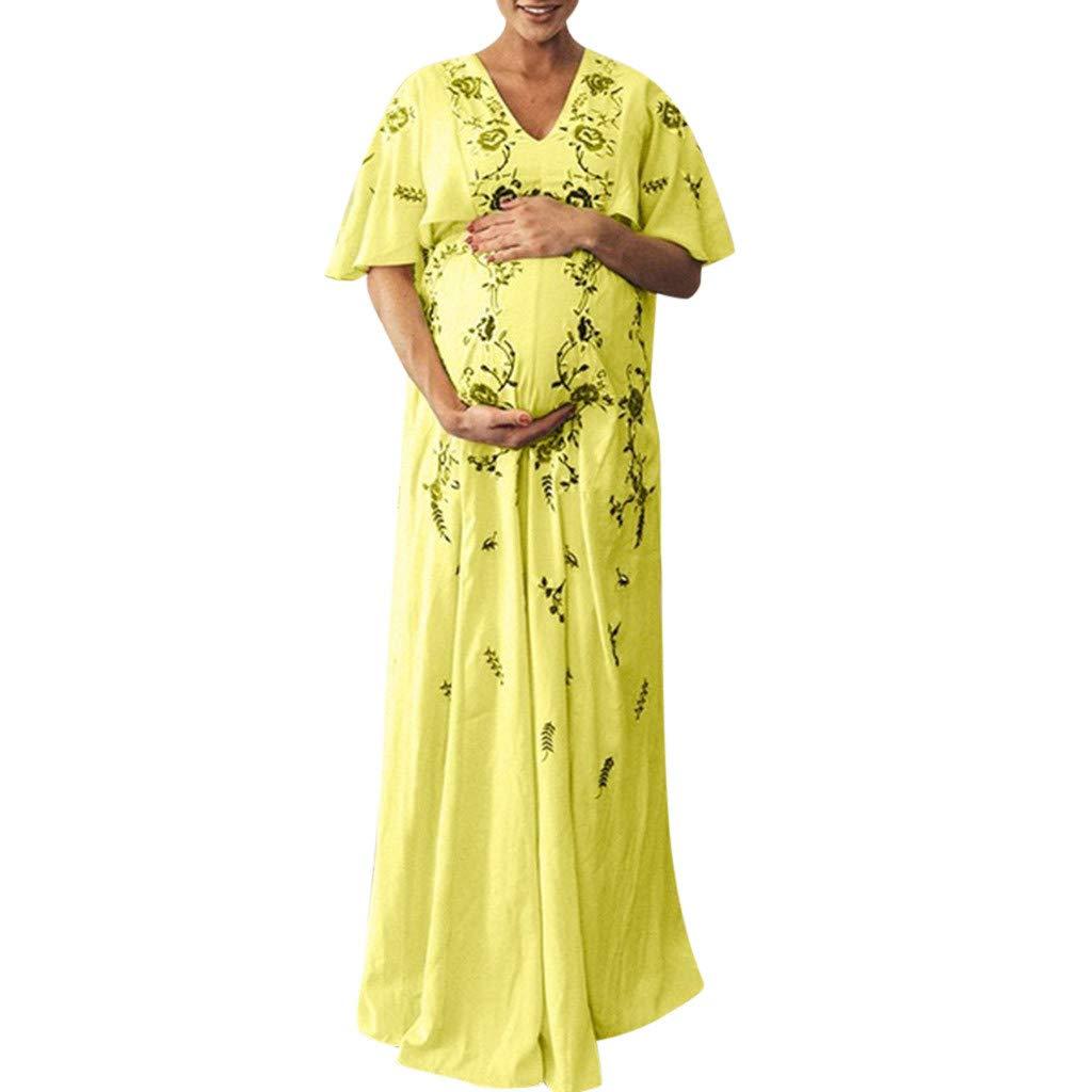 Damen Maternity Kleid,Malloom Frauen Schwangere Mutterschaft