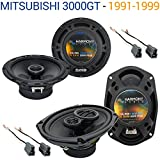 Fits Mitsubishi 3000GT 1991-1999 OEM Speaker Replacement Harmony R65 R69 Package
