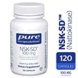 Pure Encapsulations - NSK-SD - Nattokinase 100 mg - Enzymes to Promote Healthy Blood Flow, Circulation, and Blood Vessel Function* - 120 Capsules