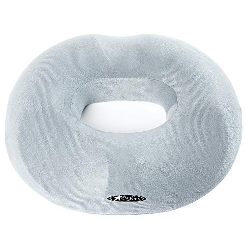 - Aylio Firm Donut Pillow Seat Cushion for Hemorrhoids, Prostate Relief, Pregnancy Pain, Pressure Sores