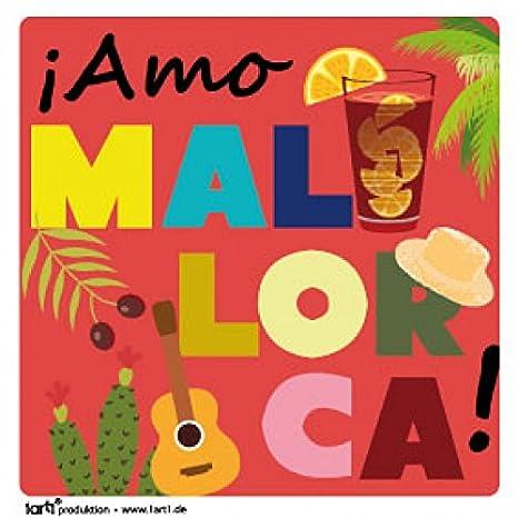 Vinilos Decorativos Mallorca.1art1 Espana Amo Mallorca Vinilo Decorativo Pegatina
