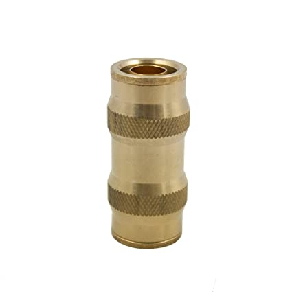 Pack of 1 Vis Brass D.O.T Push in Fitting Air Brake Union 1//4 Tube OD