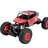 1:14 High Speed Remote Control RC Rock Crawler Racing Car Off Road Truck 2.4Ghz (Red)