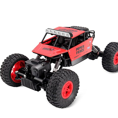1:14 High Speed Remote Control RC Rock Crawler Racing Car Off Road Truck 2.4Ghz (Red) by ABASSKY