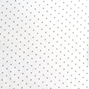 SheetWorld Fitted Sheet (Fits BabyBjorn Travel Crib Light) - Grey Pindot Jersey Knit - Made In USA