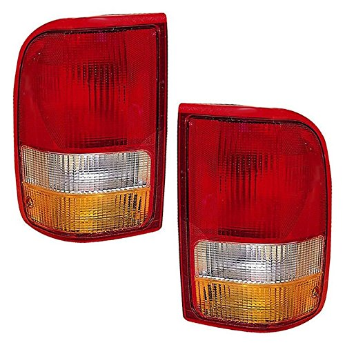 Ranger Ford Pop - Ford Ranger Replacement Tail Light Unit - 1-Pair by AutoLightsBulbs