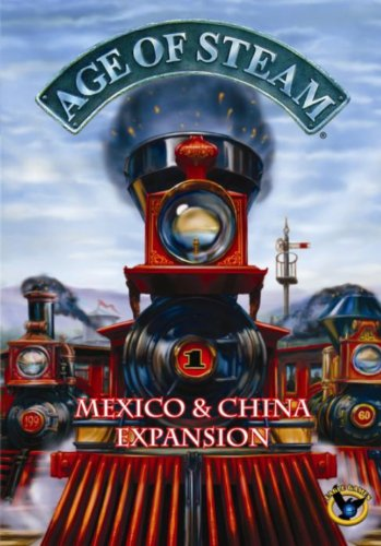 Eagle-Gryphon Games EAG01282 Age of Steam Mexico and China Collectible Card Game