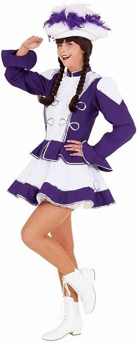 Disfraz de majorette violeta mujer - M: Amazon.es: Juguetes y juegos