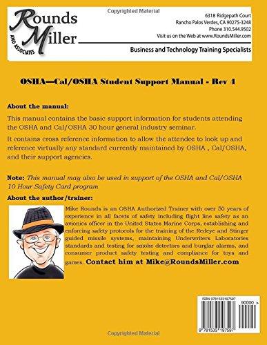 Mfr osha 30 hour manual mike rounds 9781533197597 amazon books fandeluxe Choice Image