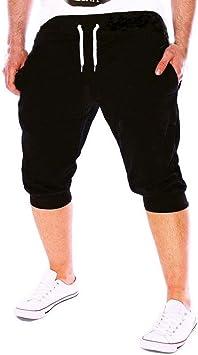 Pantalones Hombre,LMMVPVerano Hombres Gimnasio ...