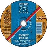 PFERD 63413 9''x1/8'' Pipeline Wheel 7/8'' AH A 24 M PSF-INOX-PIPE (10pk)
