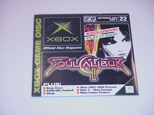 Amazon.com: Xbox Magazine Demo Disc #22, September 2003 ...