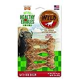 Nylabone 4 Count Healthy Edibles Small Wild Bison Dog Treat Bones