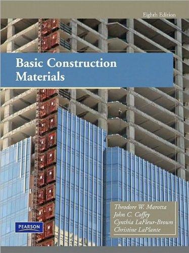 Theodore Marotta,John C. Coffey,Cynthia LaFleur-Brown,Christine LaPlante'sBasic Construction Materials (8th Edition) [Hardcover](2010)